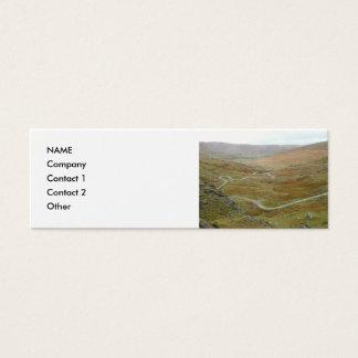 Healy Pass, Beara Peninsula, Ireland. Mini Business Card