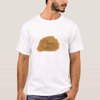 Heap of cinnamon powder on white background T-Shirt
