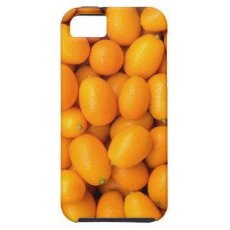 Heap of orange kumquats in cardboard box iPhone 5 cover