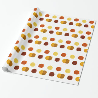 Heaps of various seasoning spices on white wrapping paper