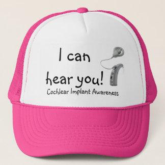 hear 12_Freedom BTE Processor, Cochlear Implant... Trucker Hat