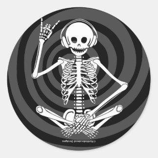 Hear Evil Classic Round Sticker