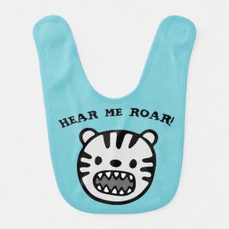 Hear Me Roar Bib