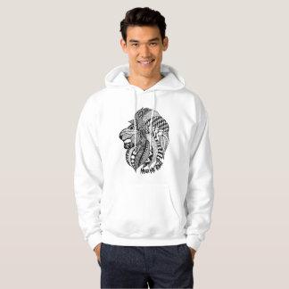Hear Me Roar Hand Drawn Lion Hoodie