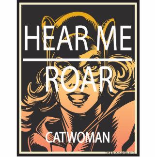 Hear Me Roar Standing Photo Sculpture