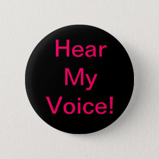 """Hear My Voice"" Challenge Button"