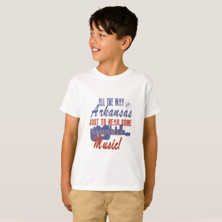 Hear Nashville Music from Arkansas Kid's T-Shirt