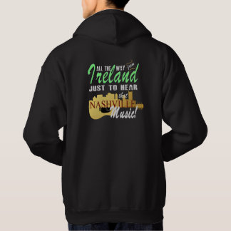 Hear Nashville Music from Ireland Men's  Hoodie