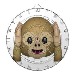 Hear No Evil Monkey - Emoji Dartboard