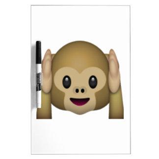Hear No Evil Monkey - Emoji Dry Erase Board