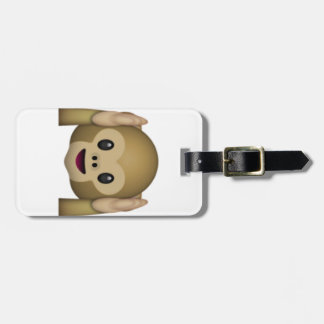 Hear No Evil Monkey - Emoji Luggage Tag