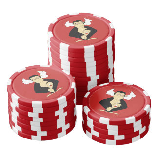 Hear No Evil Poker Chips