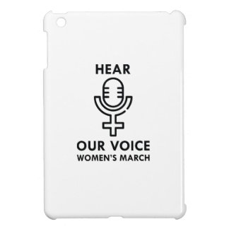 Hear Our Voice iPad Mini Cases