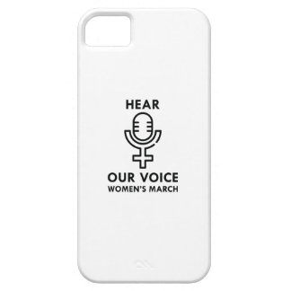 Hear Our Voice iPhone 5 Case