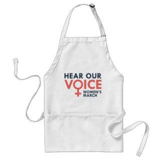 Hear Our Voice Standard Apron