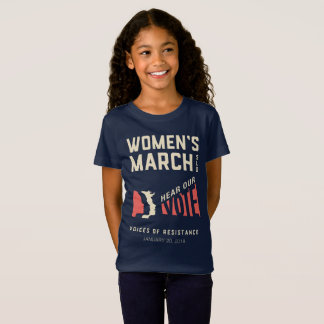 Hear Our Vote - Women's March SLO Event T-Shirt