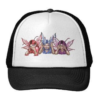 Hear, Speak, See No Evil Trucker Hat
