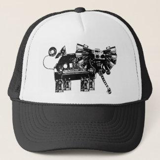 hear the elephants trucker hat