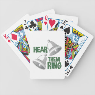 Hear Them Ring Bicycle Playing Cards