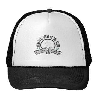 hear two versions then judge trucker hat