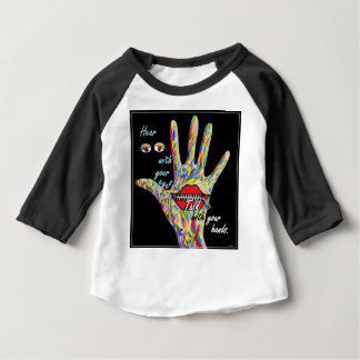 Hear with Your Eyes Baby T-Shirt