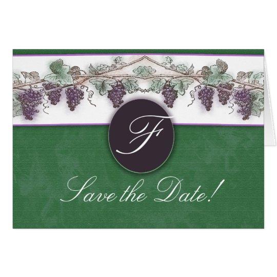 Heard it through the grapevine card