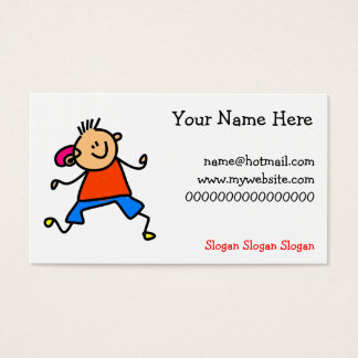 Hearing Aid Kid Business Card