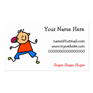 Hearing Aid Kid Pack Of Standard Business Cards