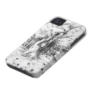 Hearing Forest & Seeing Field by Hieronymus Bosch iPhone 4 Case