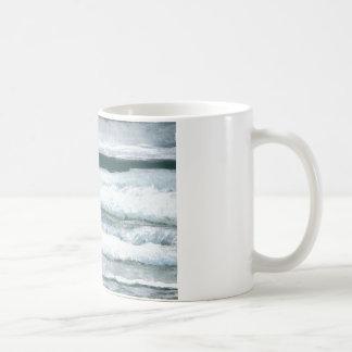 Hearing the Waves Crash Ocean Sea Art Gifts Coffee Mug