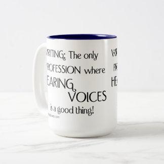 Hearing Voices Coffee Mug