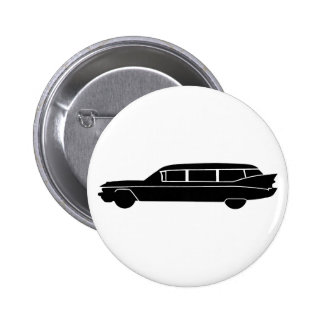 Hearse 2 Inch Round Button