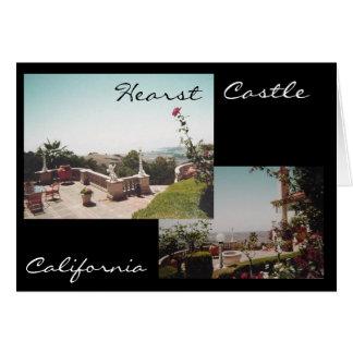 Hearst Castle Card
