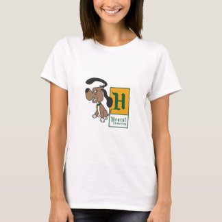 Hearst Elementary Hound Badge T-Shirt