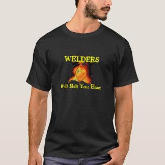 heart11, WELDERS, Will Melt Your Heart T-Shirt