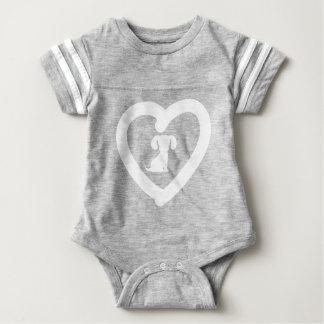 heart12 baby bodysuit