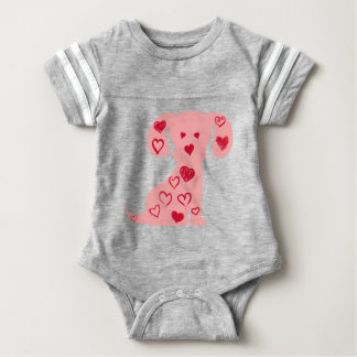 heart13 baby bodysuit
