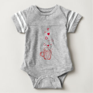 heart14 baby bodysuit