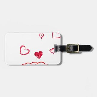 heart14 luggage tag