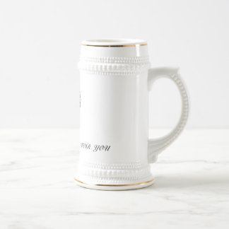 heart1, MY  HEART   BEATS   FOR  YOU 18 Oz Beer Stein