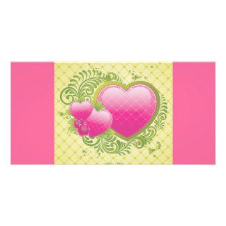Heart-123.ai Photo Greeting Card