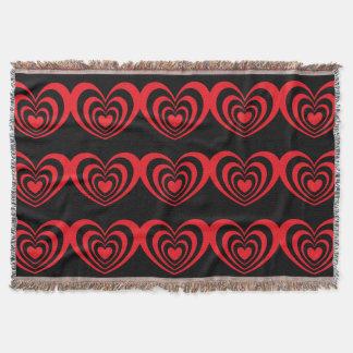 Heart 1 SDL Throw Blanket