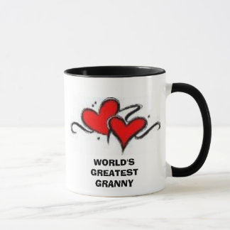 heart#1, WORLD'S GREATEST GRANNY Mug