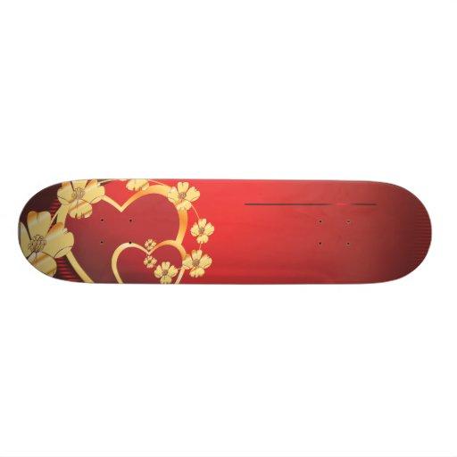 Heart-215.ai Skate Deck
