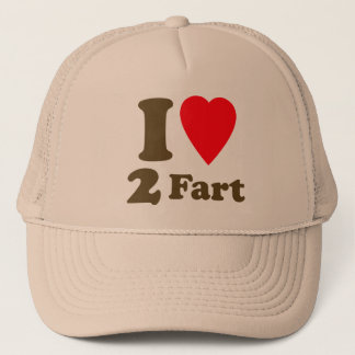 Heart 2 Fart Pass the Gas Silent Deadly Love Trucker Hat