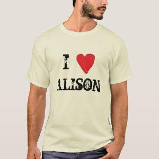 HEART (2), I, ALISON T-Shirt