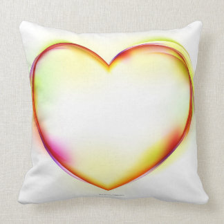 Heart 2 throw pillow