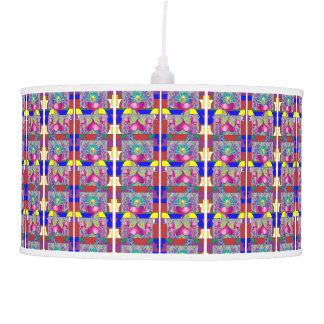 Heart Abstract Hanging Pendant Lamp