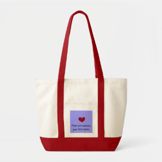 Heart Adoption Bag