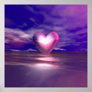 Heart Afloat Poster